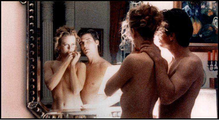 Met Tom Cruise in 'Eyes Wide Shut'.  Beeld Alamy Stock Photo