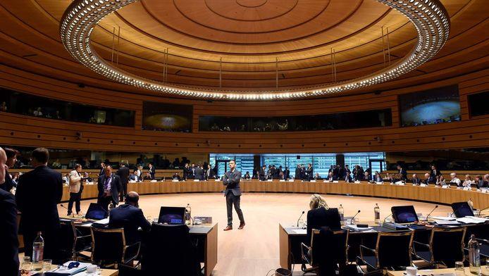 De ministers van Financiën overleggen vandaag in Luxemburg.
