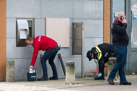 Plofkraak aan de Haareweg in Doetinchem.
