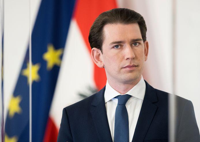 Oostenrijks bondskanselier Sebastian Kurz.