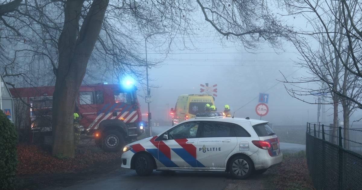 Geen treinen Apeldoorn-Amersfoort door aanrijding.