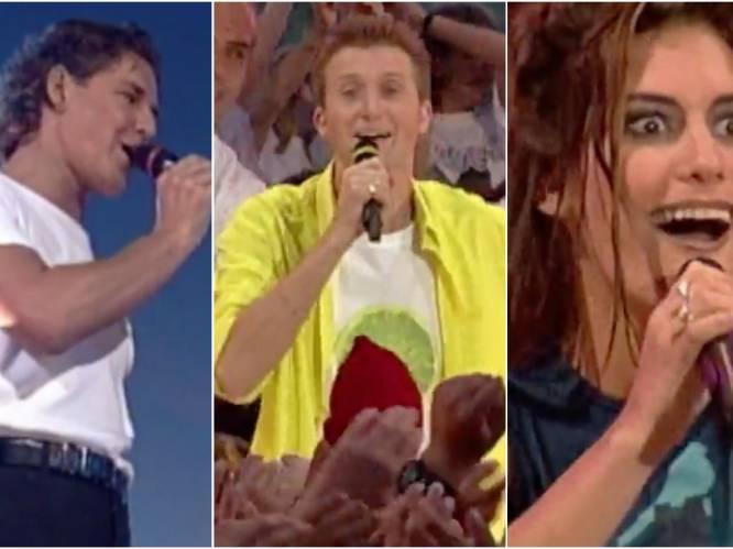 """Zangers blikken terug op 'Tien Om Te Zien': """"Betty van 'Big Brother' stond backstage over te geven in een zakje"""""""