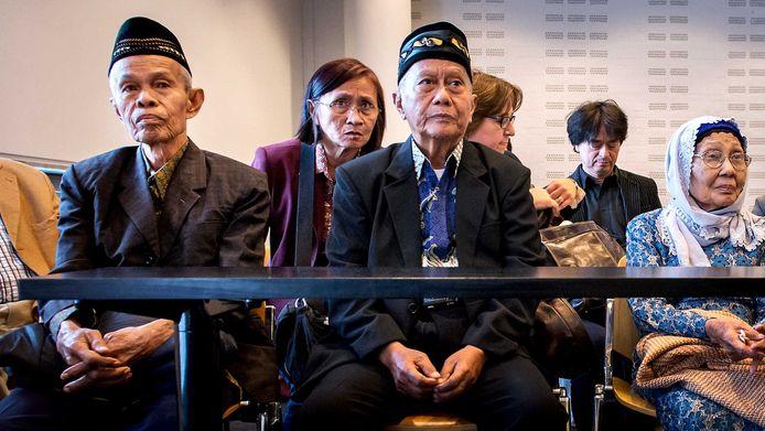 Nabestaanden van de geëxecuteerde mannen waren in augustus in Nederland.