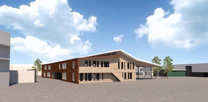Zo komt de nieuwe school voor De Brinck en Jan Bluyssen samen eruit te zien.