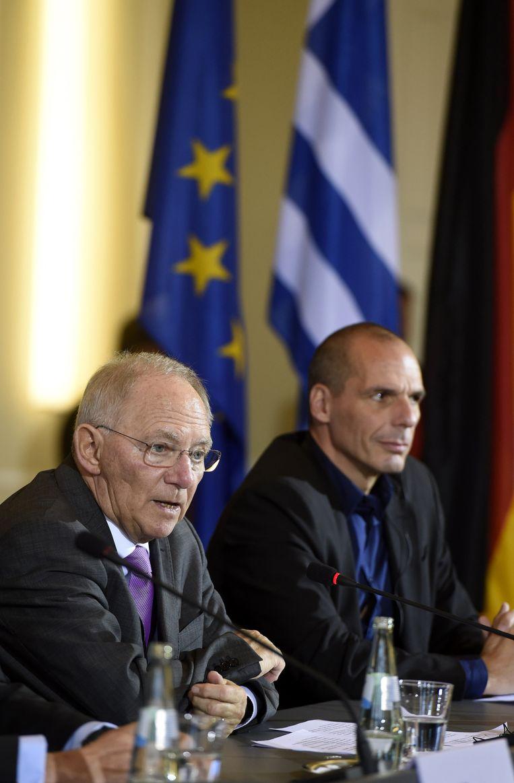 Varoufakis over zijn Duitse collega Schäuble: