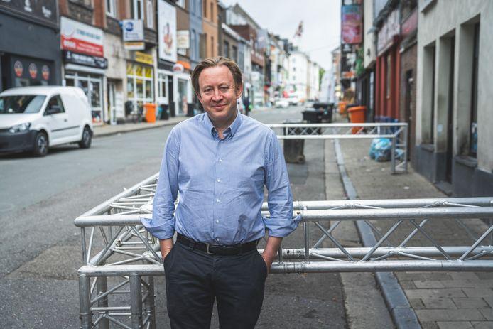 """Tim Joiris: """"In de Overpoortstraat zetten we die plexischermen tòch."""""""