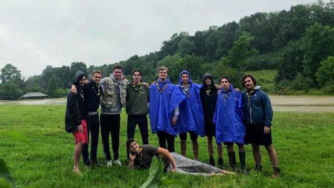 Kampplaats van scouts onder water na noodweer: 12 uur later is er al 3.000 euro ingezameld voor nieuwe legertent