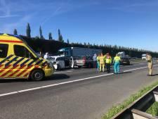Kettingbotsing op A28 tussen Amersfoort en Nijkerk, snelweg weer open