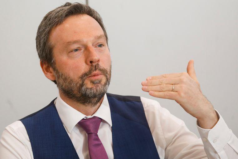 Pierre Wunsch, gouverneur van de Nationale Bank. Beeld BELGA_INTERNAL