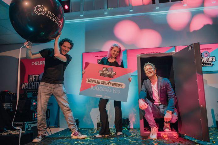 Natasja Vos uit Gameren wint één Bitcoin ter waarde van 44.000 euro.