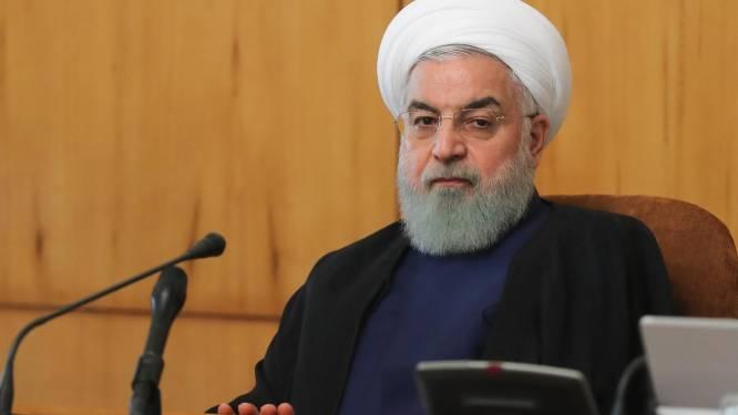 """Iraanse president: """"VS moeten eerste stap zetten voor herstel nucleair akkoord"""""""