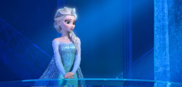 Elsa en Anna lesbische sex