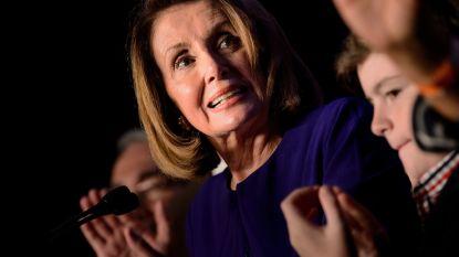 """Trump wil Democraat Pelosi als voorzitter van het Huis: """"Als ze het haar moeilijk maken, voegen we er misschien Republikeinse stemmen aan toe"""""""