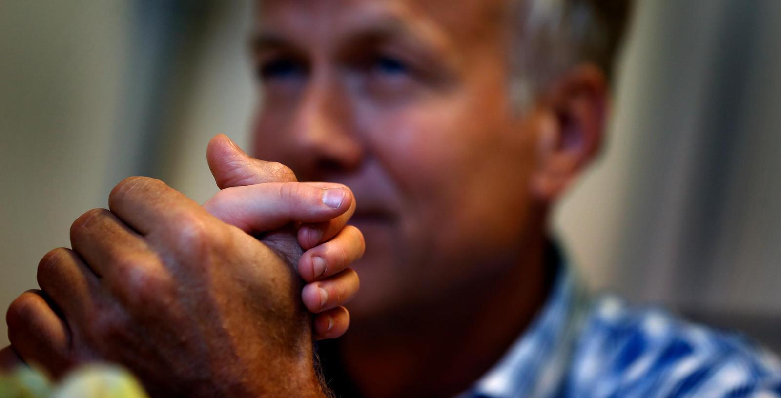 Hoogleraar Eduard Verhagen van het Universitair Medisch Centrum in Groningen. Verhagen pleit voor de mogelijkheid tot euthanasie voor doodzieke kinderen onder de 12 jaar die ondraaglijk lijden.