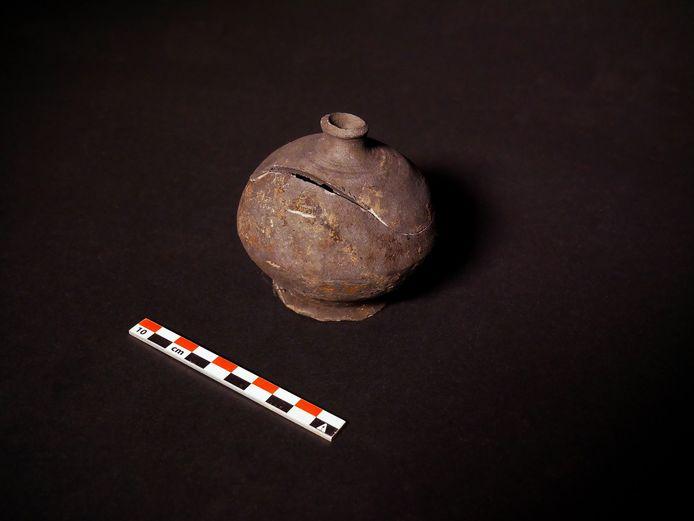 Spaarpot gevonden in Aalst.
