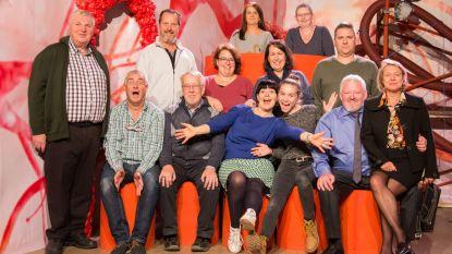 Komisch theaterstuk 'Lucas Lucas' van Tijl en Nele in première