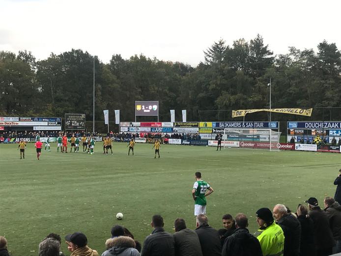 Vrije trap voor VVOG in de Veluwse derby.