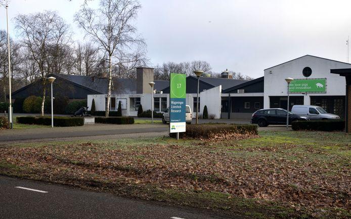 Het varkens Innovatie Centrum aan de Vlaamseweg in Sterksel.
