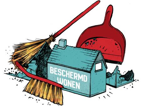 Twente bespaart fors op beschermd wonen