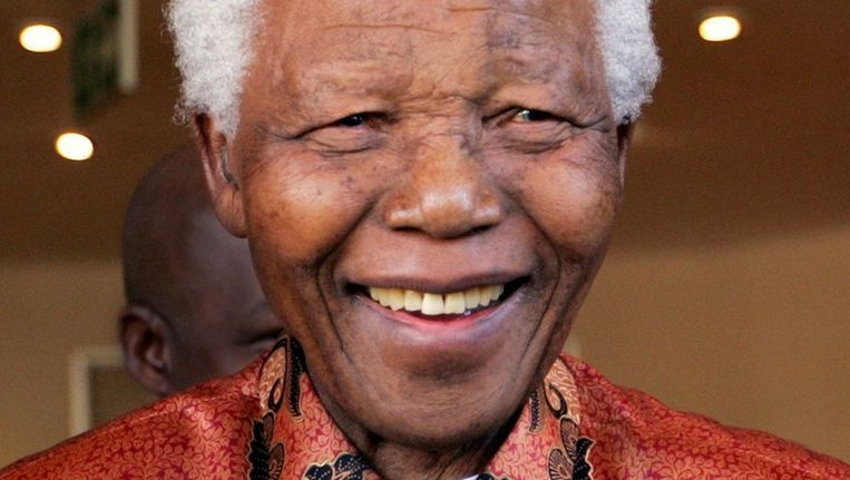 Nelson Mandela © anp Beeld