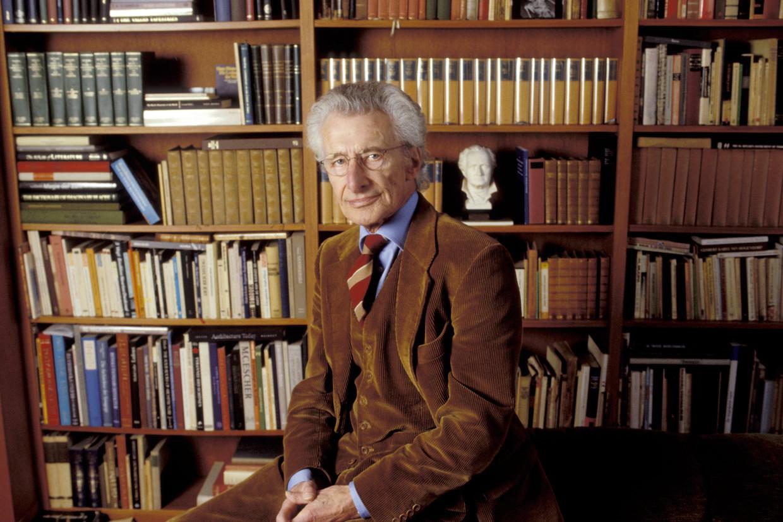 Harry Mulisch in 2003 Beeld BELGAIMAGE