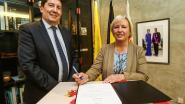 Ann Schrijvers legt eed af als burgemeester