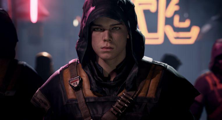 Op de kracht van dit nieuwe hoofdpersonage, gevluchte Jedi-leerling Cal Kestis, steunt het hele voortbestaan van 'Star Wars'-games onder de EA-vlag. Beeld EA