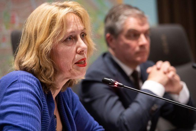 Yvonne van Duijnhoven, hoofd infectieziekten van de GGD Amsterdam.  Beeld Hollandse Hoogte /  ANP