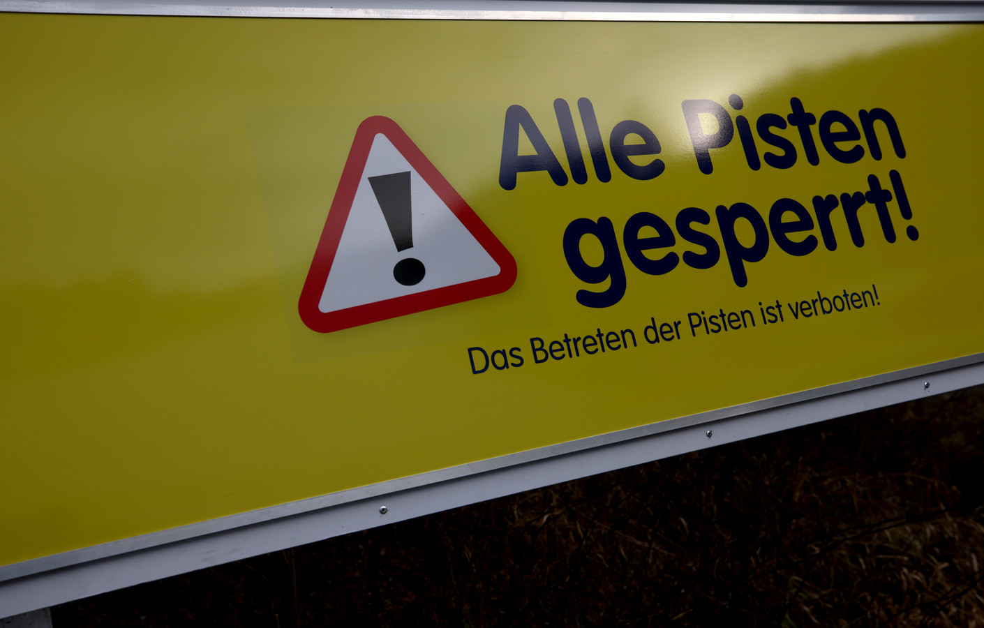 Voorlopig blijven de skipistes in Oostenrijk nog dicht, hier die van Spital am Semmering.