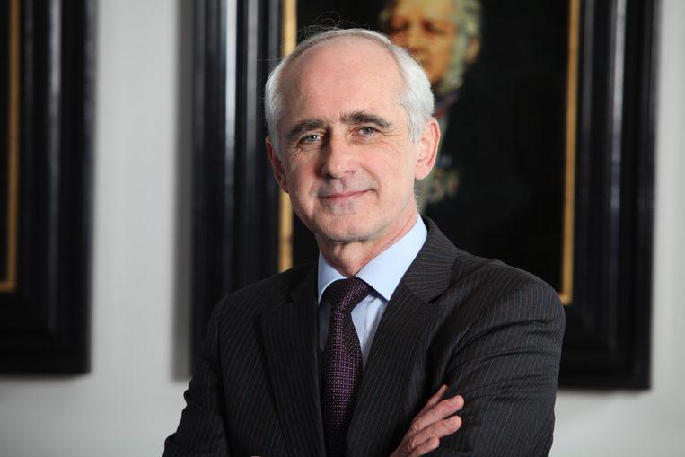 Bert van der Zwaan, rector van de Universiteit Utrecht en voorzitter van de League of European Research Universities. Beeld rv