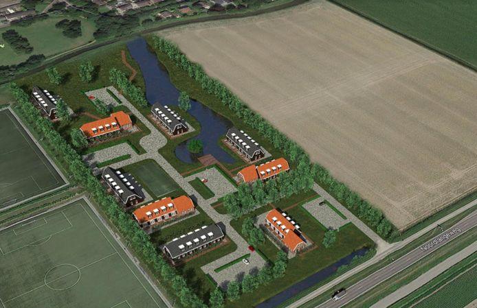Het plan voor huisvesting 250 arbeidsmigranten in Dinteloord