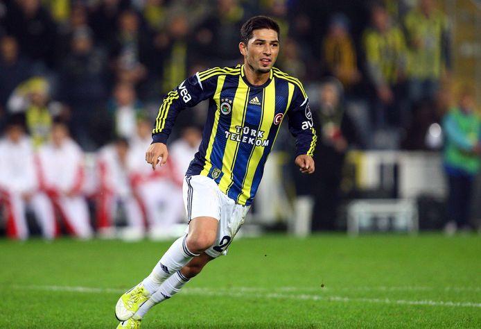 Sezer Öztürk als speler van Fenerbahce in 2012.