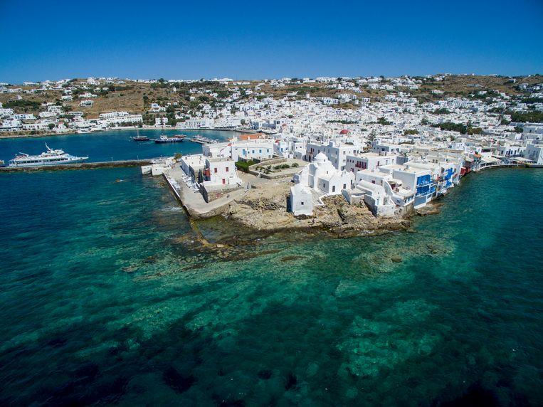 Mykonos  Beeld Athanasios Gioumpasis / Getty