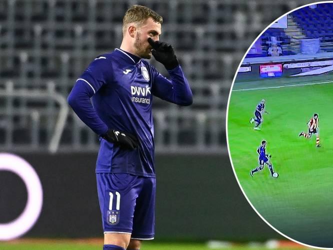 Natuurlijk is het antwoord kwaliteit: op zoek naar het probleem van Anderlecht met analyse van de wedstrijdfilm tegen KV Mechelen
