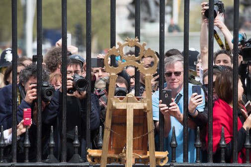 Foto van Een nieuwe babyprins zet VK op zijn kop