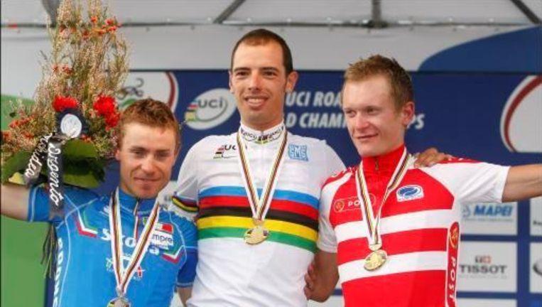 Twee jaar geleden werd Ballan nog wereldkampioen in Varese. Beeld UNKNOWN
