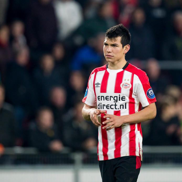 PSV-speler Hirving Lozano is ongetwijfeld een transferkandidaat komende zomer.