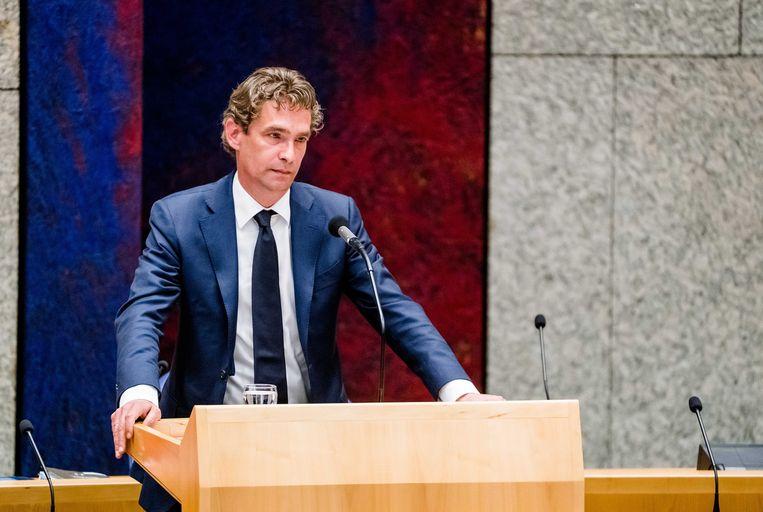 Bas van 't Wout volgde op 20 januari Eric Wiebes op als minister van Economische Zaken. Beeld ANP