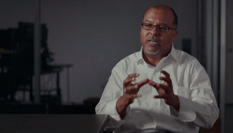 Tourgids en historicus Abdur-Rahman Abdullah dook diep in het moordonderzoek Beeld Netflix
