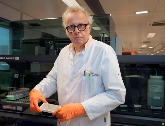 Arts-microbioloog Hans Zaaijer: ,,De kans bestaat dat het coronavirus elk jaar de kop opsteekt en het een deel van het leven wordt.''