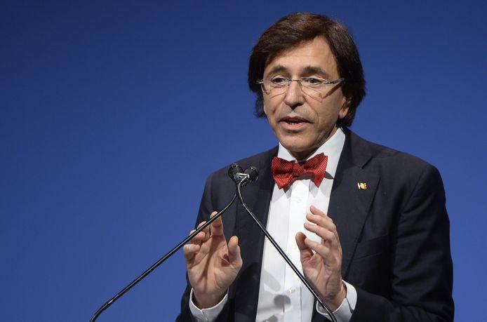 Le ministre-président wallon, Elio Di Rupo (archives)