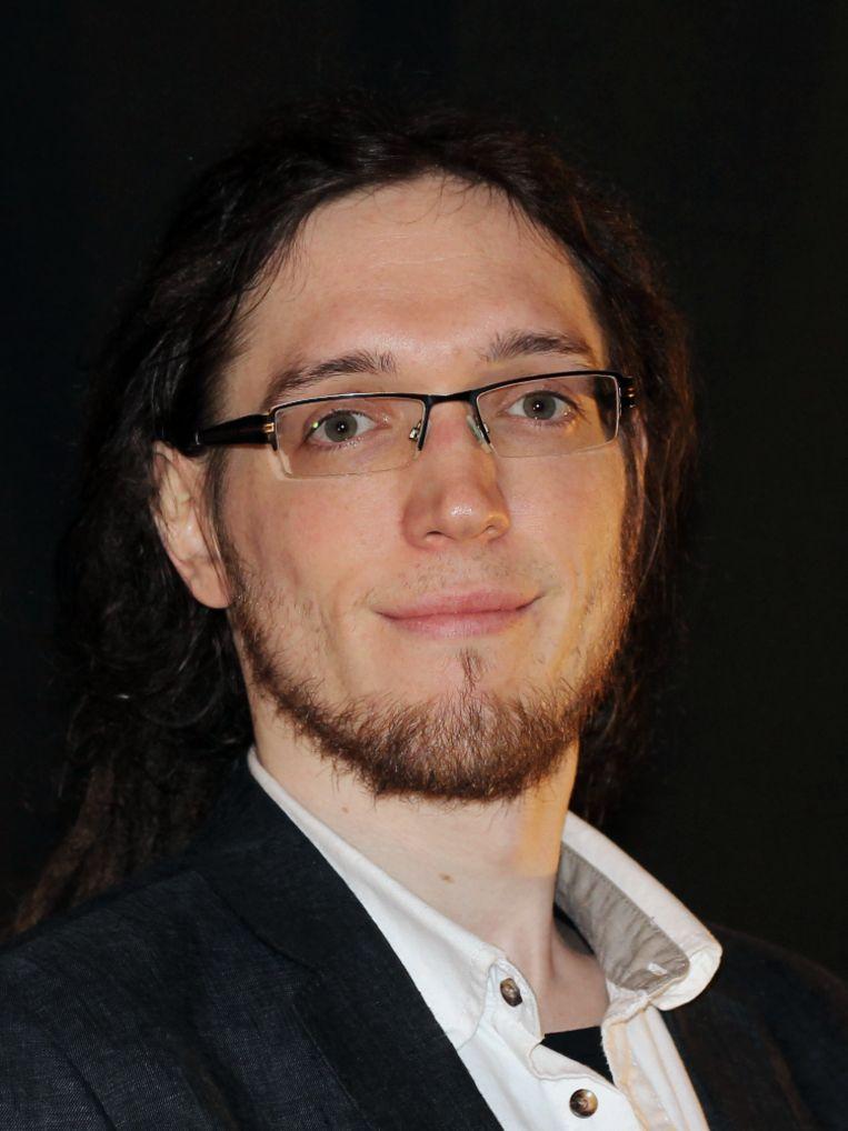 David Richter van de Radboud Universiteit, hij doet onderzoek naar hoe onze hersenen de nabije toekomst proberen te voorspellen. Beeld David Richter