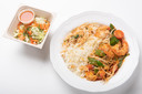 Thaise curry scampi met rijst