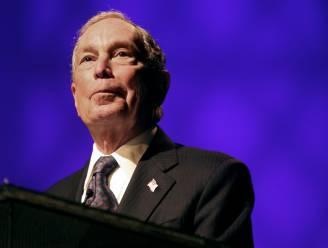 Miljardair Michael Bloomberg wil het in 2020 opnemen tegen president Donald Trump