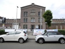 Vluchtelingen in oude gevangenis in Amsterdam