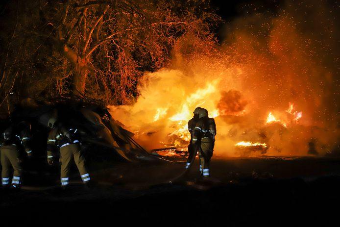 Brand buitengebied Veghel