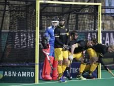 HC Den Bosch-keeper Van Doren redt punt tegen Oranje-Rood