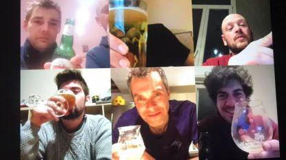Hou eens een skype-ritief achter de webcam