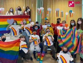Leerlingen van GO! Atheneum Oudenaarde organiseren een kleurrijke Dag Tegen Holebifobie