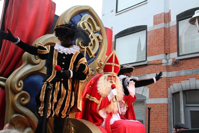 De Sint mocht de parade afsluiten.